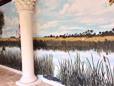 Everglades Mural