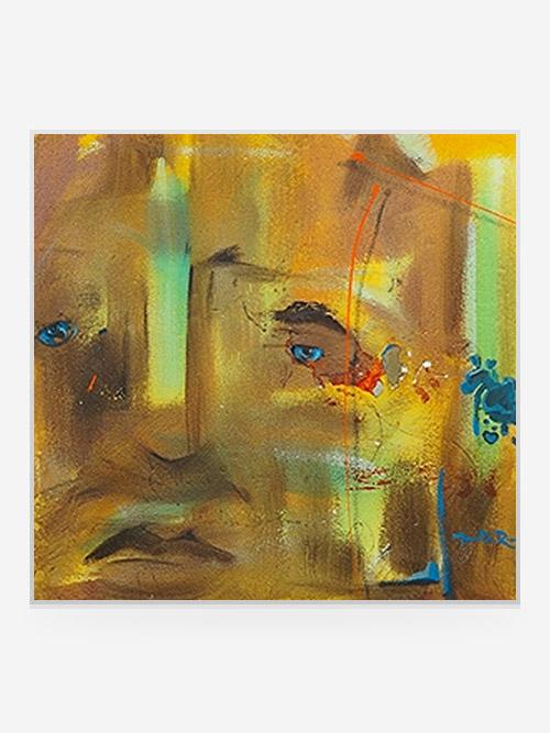 "Rouse Art ""DigiArt"" Titled: ""Orange Peel"" 2007"