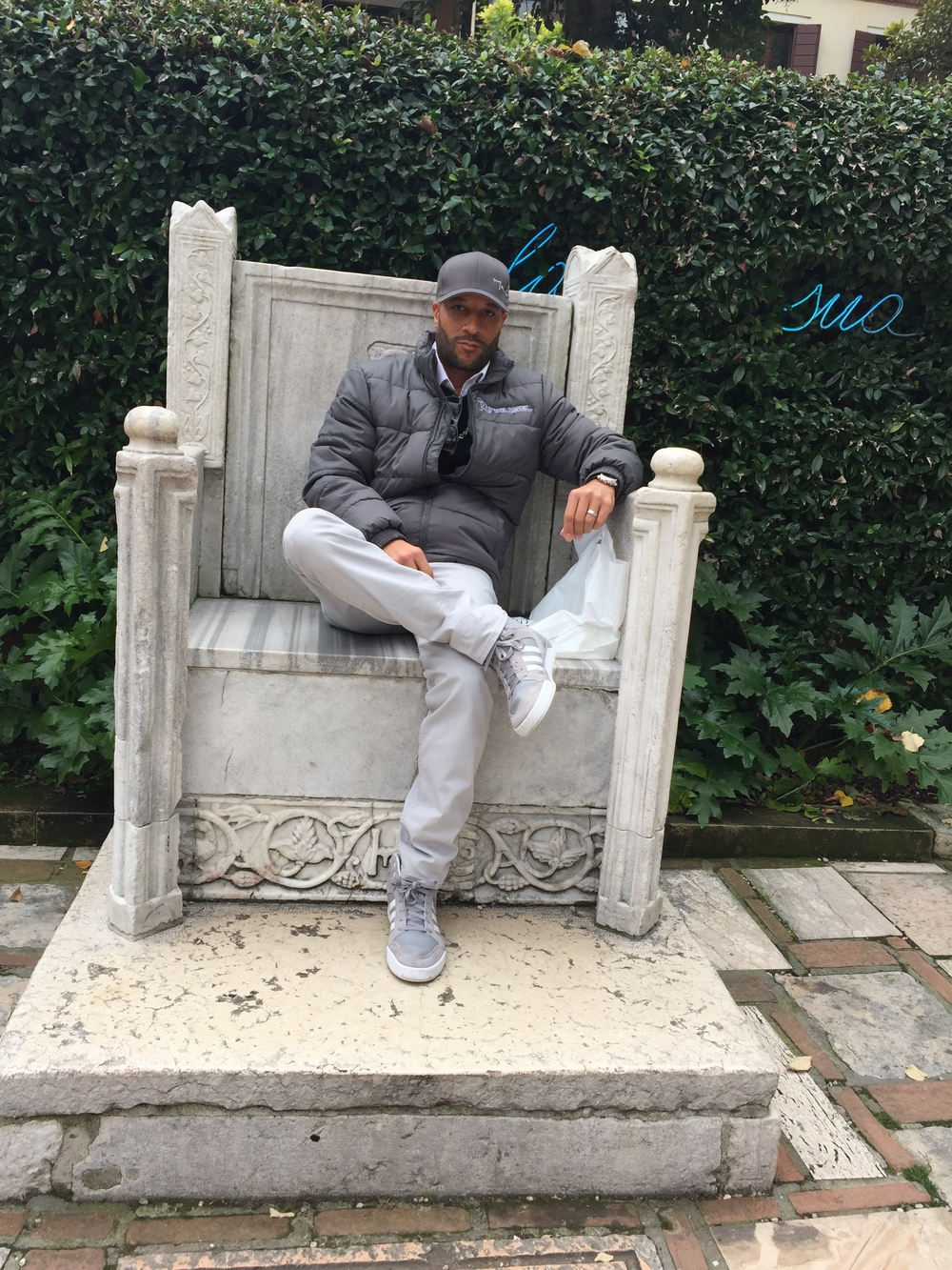 Marvin D. Rouse @ Peggy Guggenheim Museum in Venice, Italy 2015