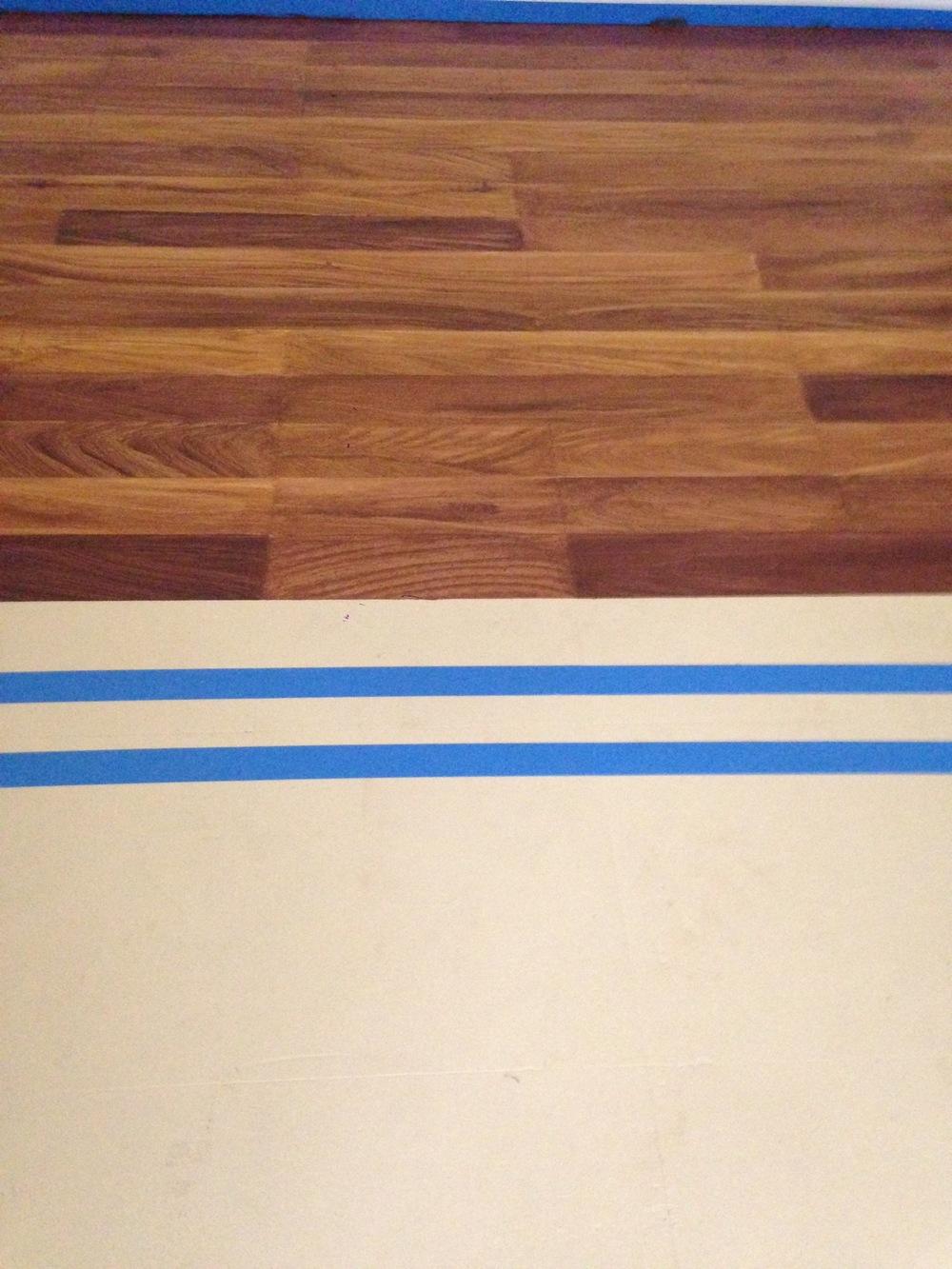Faux Wod Plank Floor
