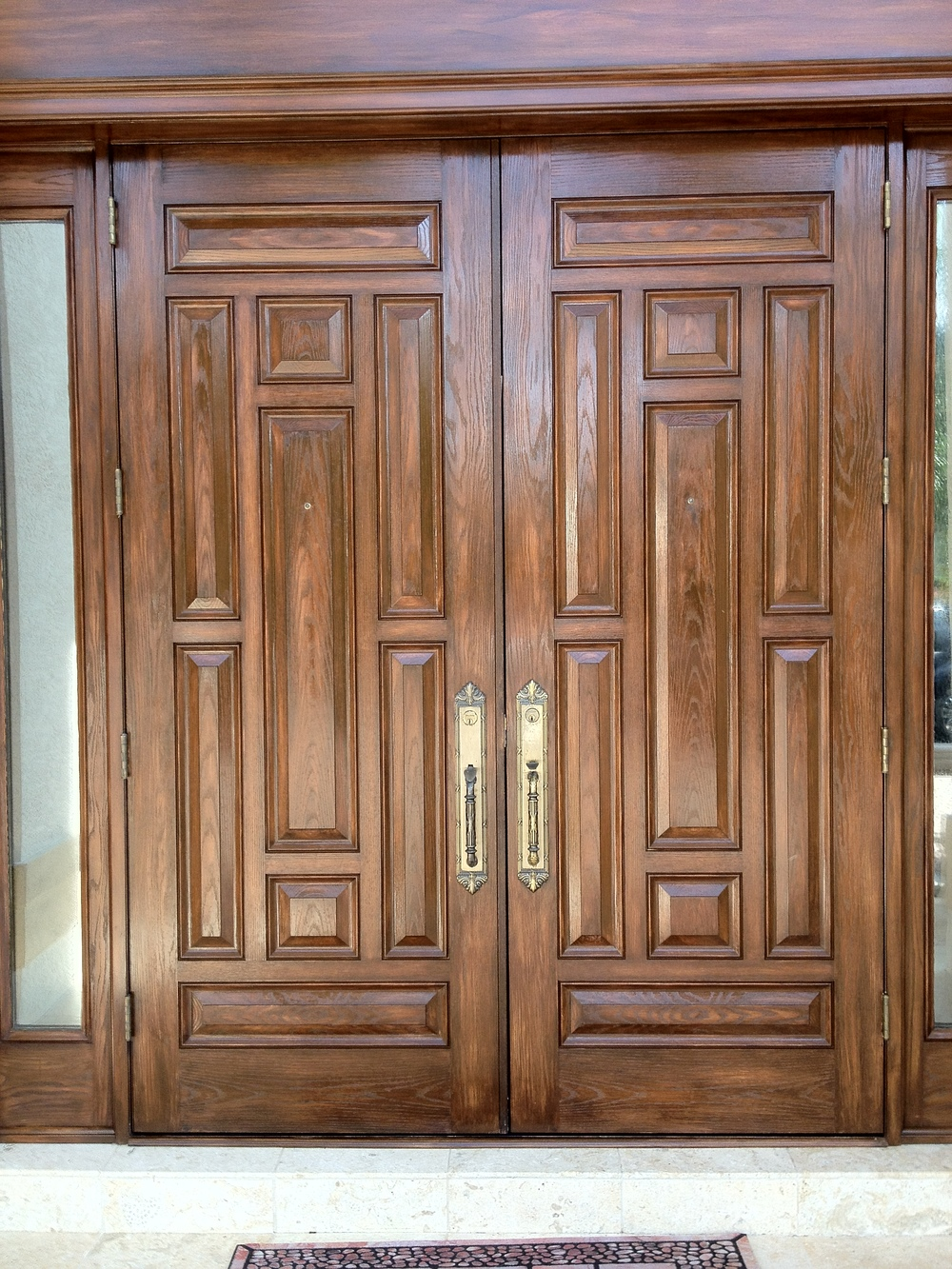 faux wood doors 2013 Bonita Bay (1).JPG