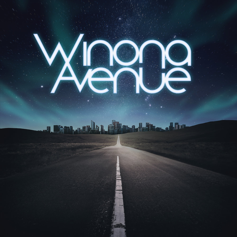 Winona Avenue - Self Titled LP | Coming 2019Full Packaging Design & Lyric Booklet