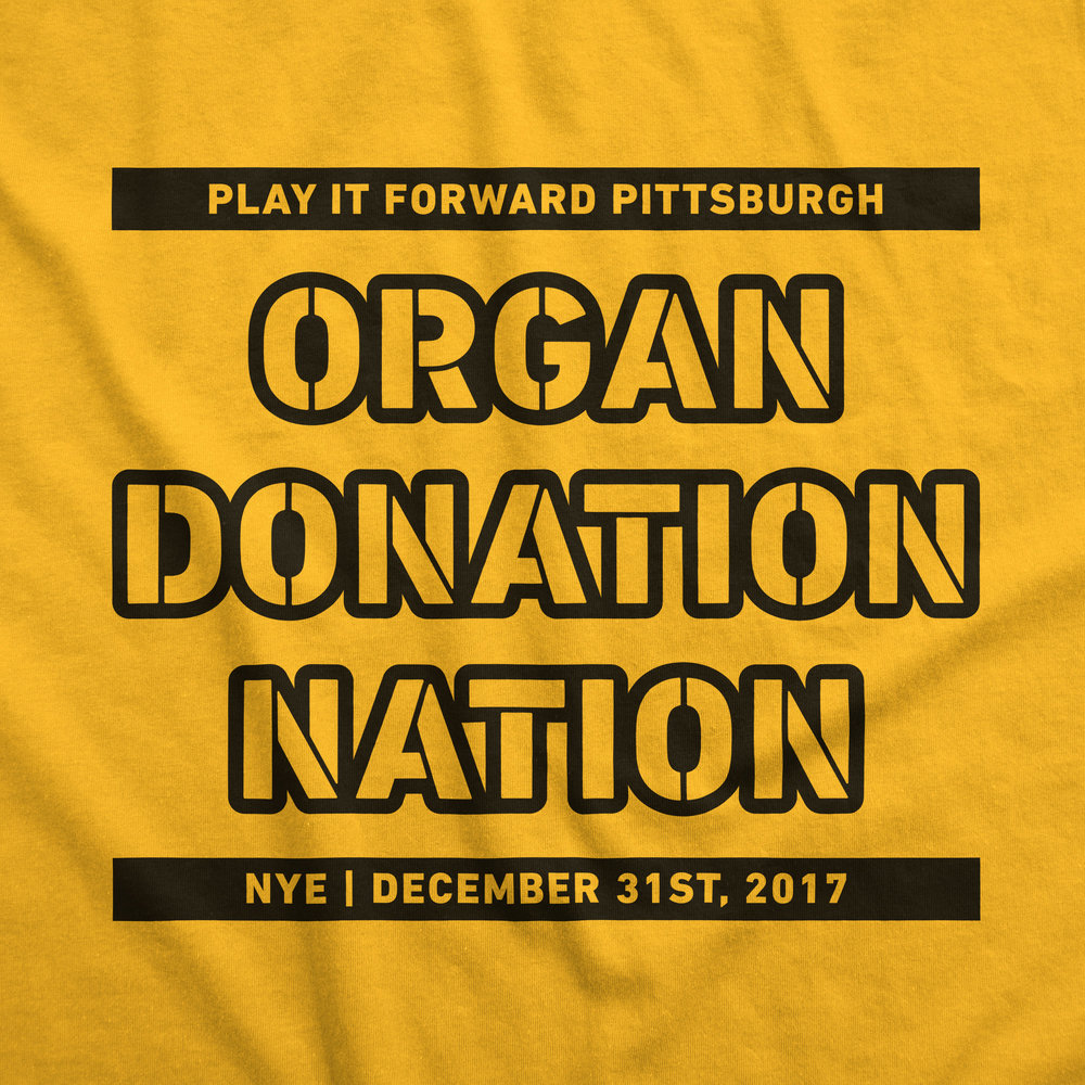 PLAY IT FORWARD PITTSBURGH - PRIZEO CHARITY CAMPAIGN PROMOTIONAL T-SHIRTTOP PRIZE: PITTSBURGH STEELERS MEET & GREET