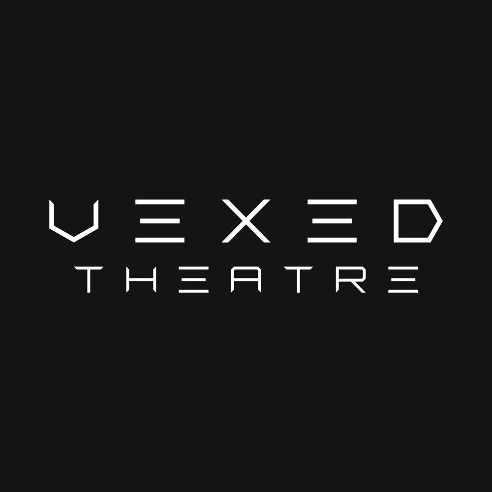Vexed Theatre - Wordmark Logo Designindependant Theatre Companymanchester, England
