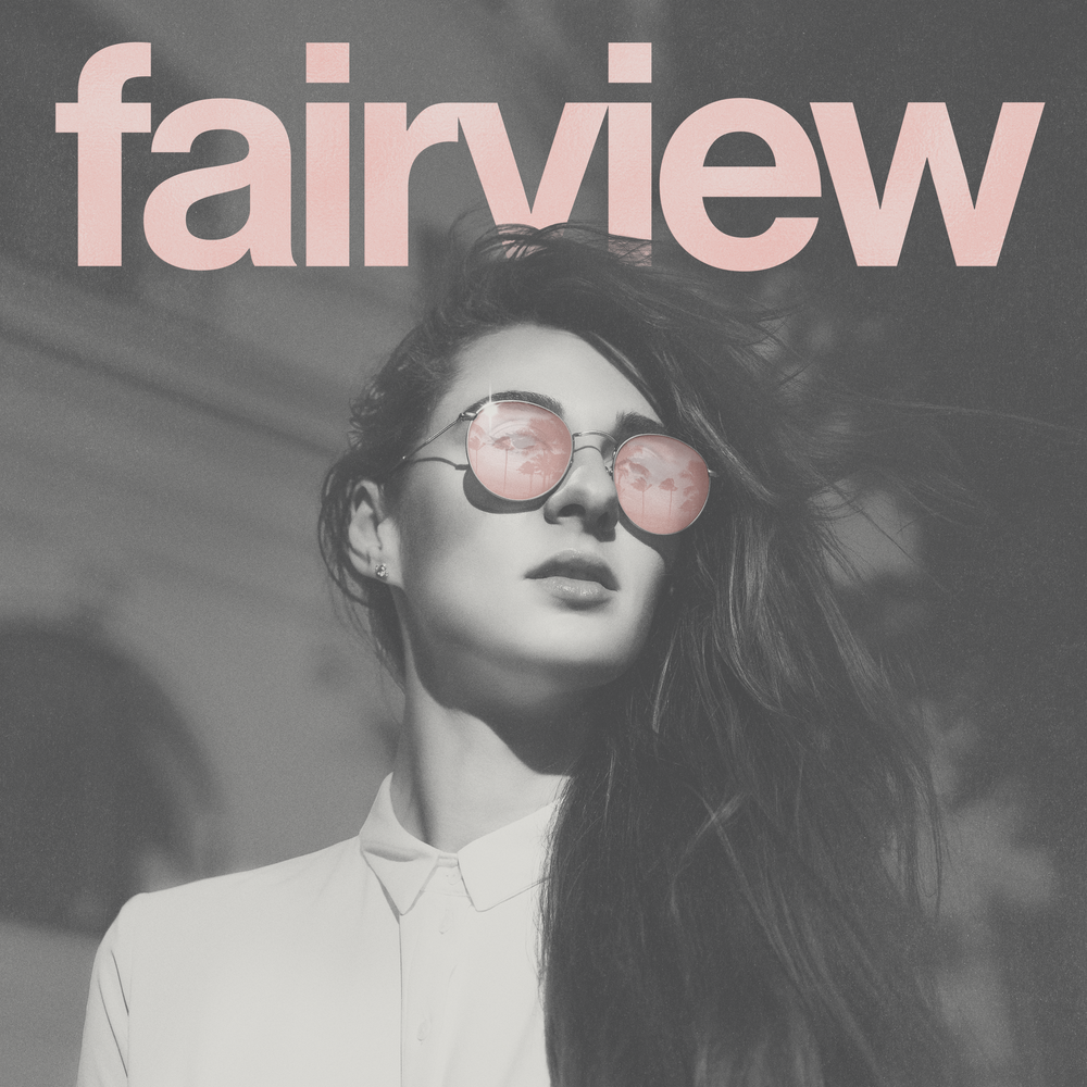 Fairview - Upcoming Self-Titled EPdigital EP Cover & Wordmark Logo