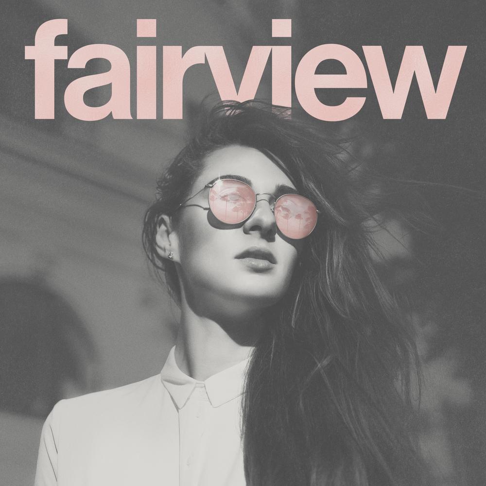 FAIRVIEW - UPCOMING SELF-TITLED epdigital ep cover & WORDMARK LOGO