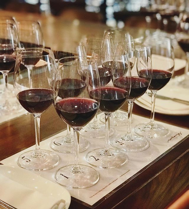 Back at @corkbuzzclt to do a red wine profile! Excited to be guided through the various aspects of wine and pinpoint what they really are! What will my profile be?