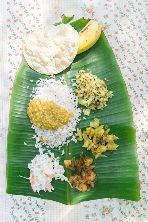 india_thali_banana_leaf_jaipur_travel_photography