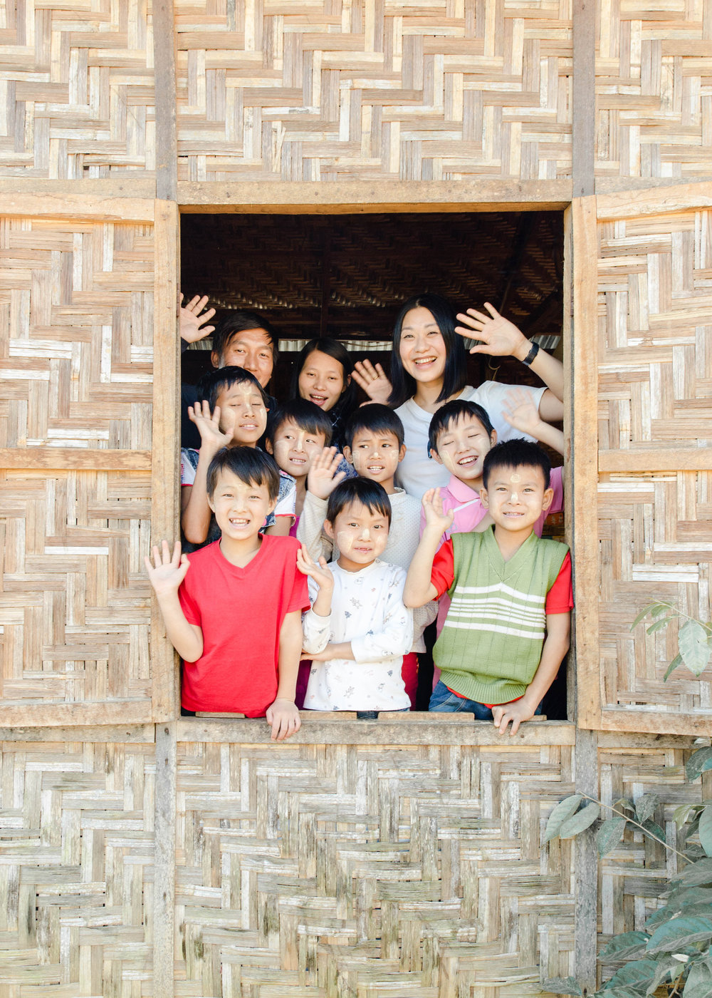 Documenting a safe home in Pyin Oo Lwin village, Myanmar. Many of these children lost their homes to due to the civil war that has been going for the last 70 years. Most of these children don't know their names, age or where they are from.