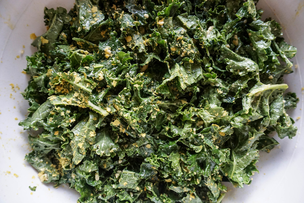 first step kale chip