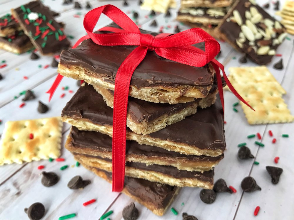 SALTINE TOFFEE BARS