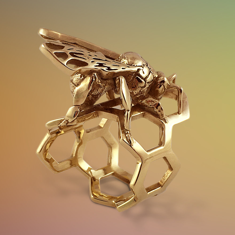 Western Honey Bee Ring