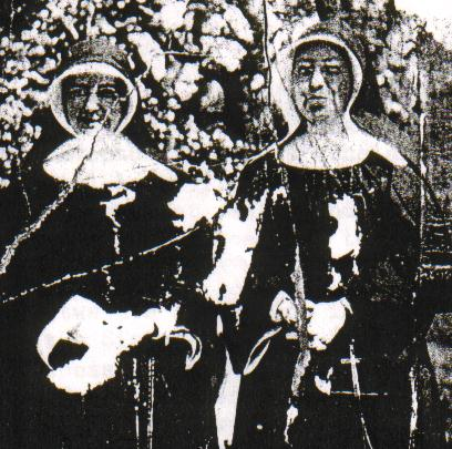 Sister Mary Barber (Left)