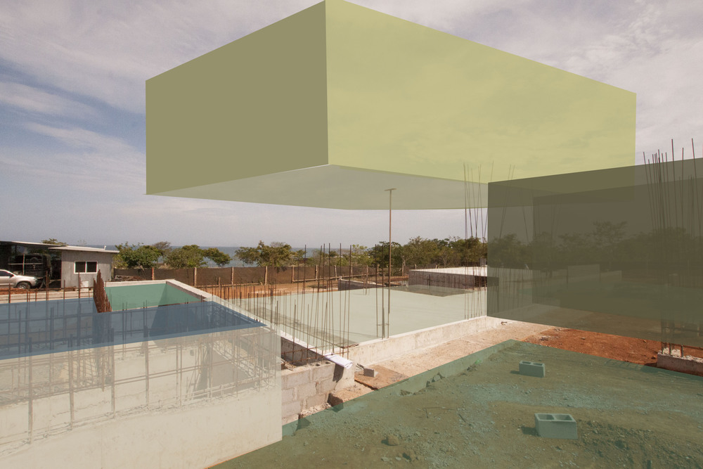 Progress Collage - Modern Pavilion