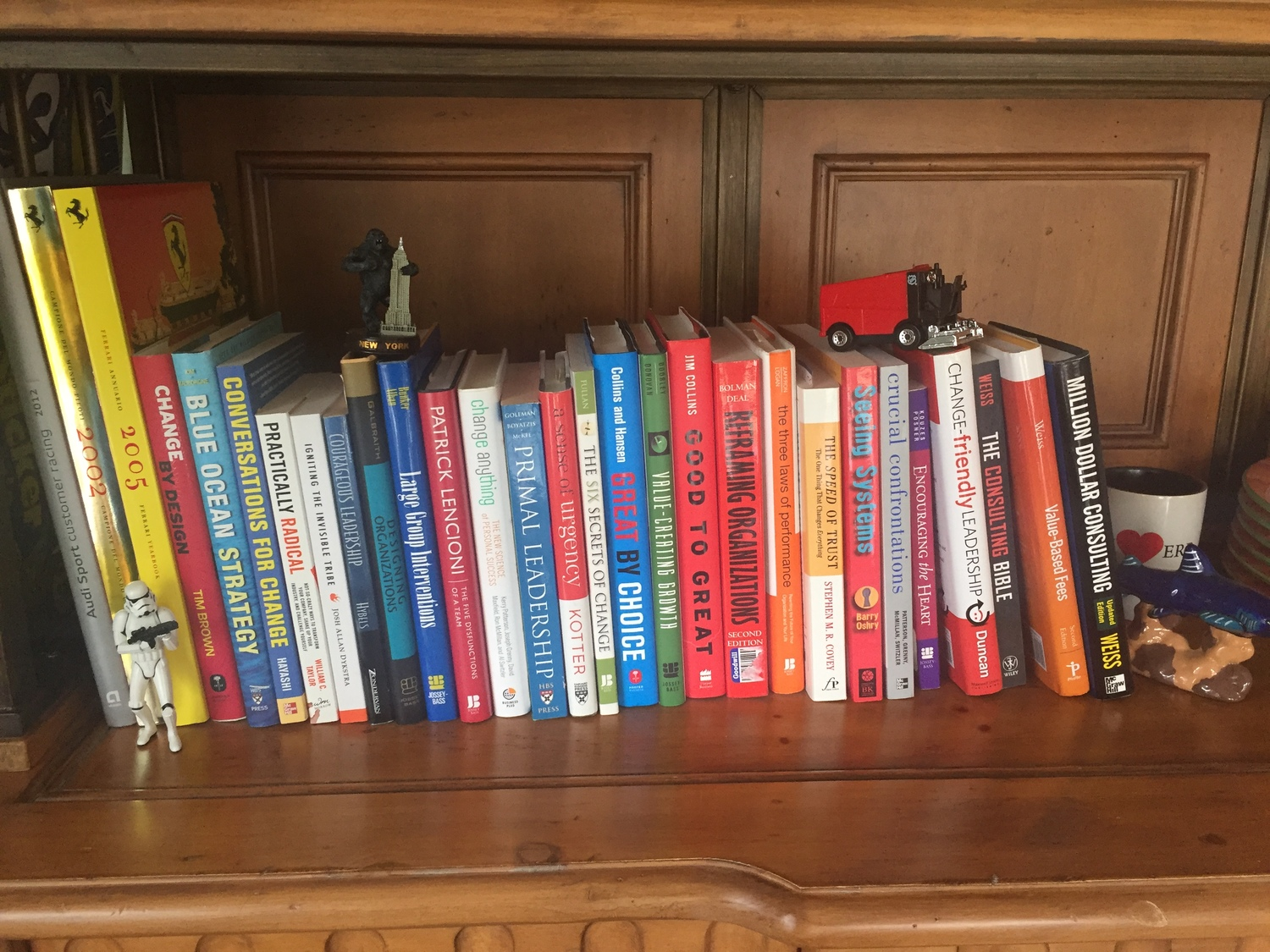 Books for the Brain on Change — My CCMP