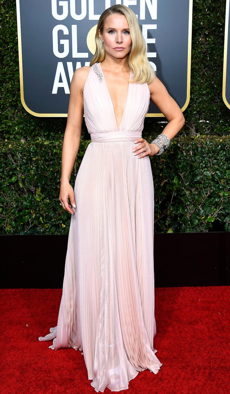 Kristen Bell in Zuhair Murad and Harry Winston jewels