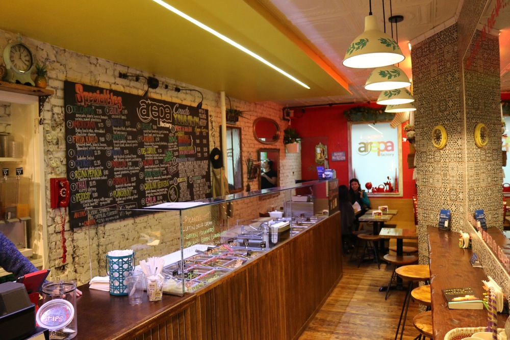 Arepa Factory Interior