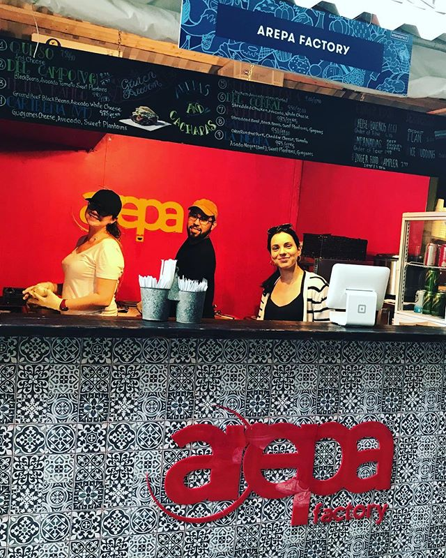 Now Open! #ArepaFactory is now on Broadway Bites Market on 33rd Street and 6th Avenue with all the Venezuelan Flavors from 11 to 9. We are waiting for you! #BroadwayBites  #eatoutnyc #arepas #arepasvenezolanas #bestarepasever #newrestaurantsnyc #eastvillage #bestarepanyc #bestarepasever #glutenfree #healthyeating #cachapas #cachapasvenezolanas #fresh #freshingredients #venezuelanfood #venezuelanarepa #venezuelansinnyc  #buzzfeed #foodpic #foodgasm #gastroart