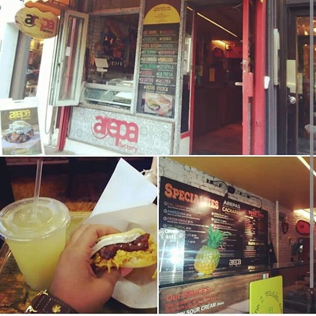 Enjoy the experience #ArepaFactoryNYC 🔥 @tctastytravels ・・・ Dinner tonight.  La Negra.....cachapa filled with sweet plantain, queso de freir(frying cheese), and shredded chicken instead of ground beef. I also got a pineapple lemonade that was one of the more refreshing drinks I have had in a while.  This place is deliciousness.  #NewYork #nyfoodie #NewYork #food #foodporn #foodie #foodpicoftheday #foodpic #foodgasm #instafood #yummie #meal #delicious #refreshment #dinner #cachapas #arepafactorynyc #lanegra #pineapplelemonade#cooking l #tasty #homemade #hot #closeup #traditional  Credit: @tctastytravels @arepafactorynyc 🍽🍽 Follow @tctastytravels @arepafactorynyc 👫👪👭👬 Share with your Friends and Family 💗💗Double tap if you like this post 🌠🌠For business opportunities or if you'd like me to feature you, DM me.