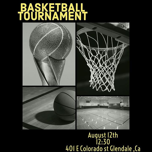 We're starting our annual basketball tournament! Invite your church and youth to participate. We're having friendly competition with 4 churches so join us if you're interested :)