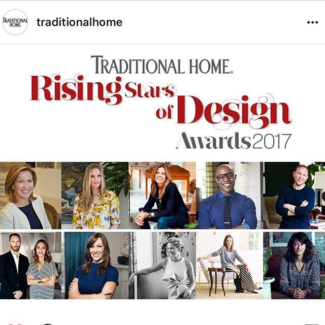 Repost! So excited and honored to be included in this group! Also excited to share as I'm terrible with secrets and have been holding on to this one for a minute... @traditionalhome @newtrads2017 #ajennisoninteriors #watchmework