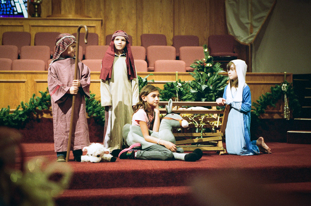 100/365 - School Nativity