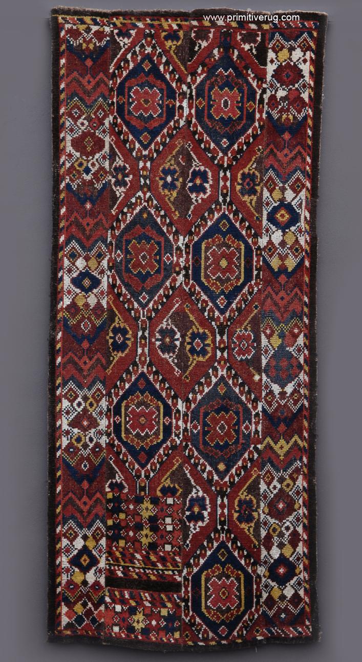 Uzbek Bearskin Samarqand Circa 1850