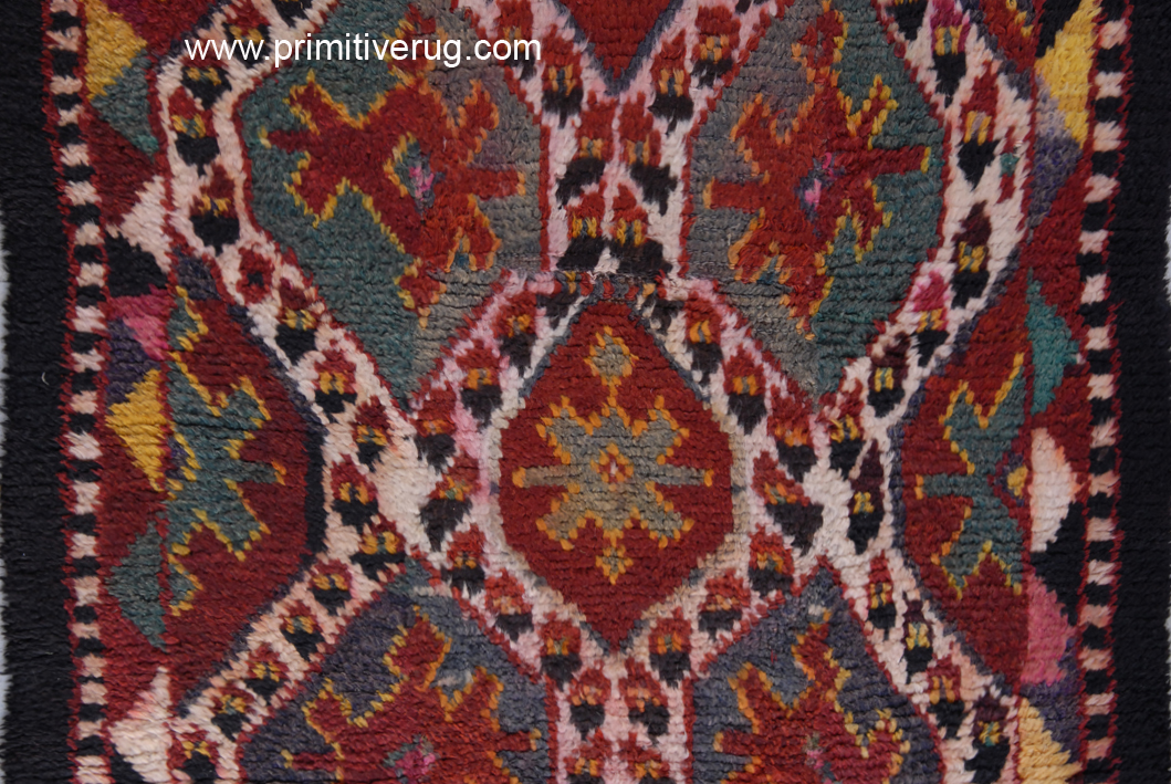 Dye runs garish aniline dyes Julkhirs Circa 1910