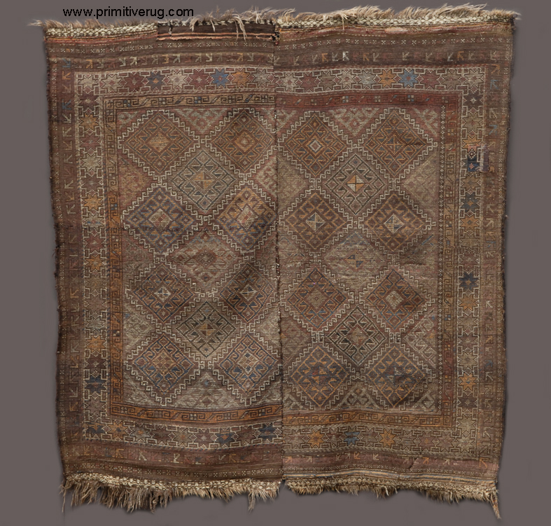 Baluch Two Piece Bedding Rug Back