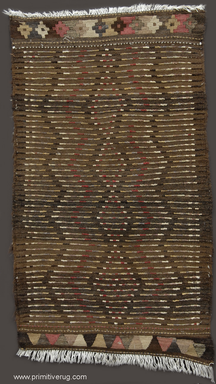 Back Kurdish rug