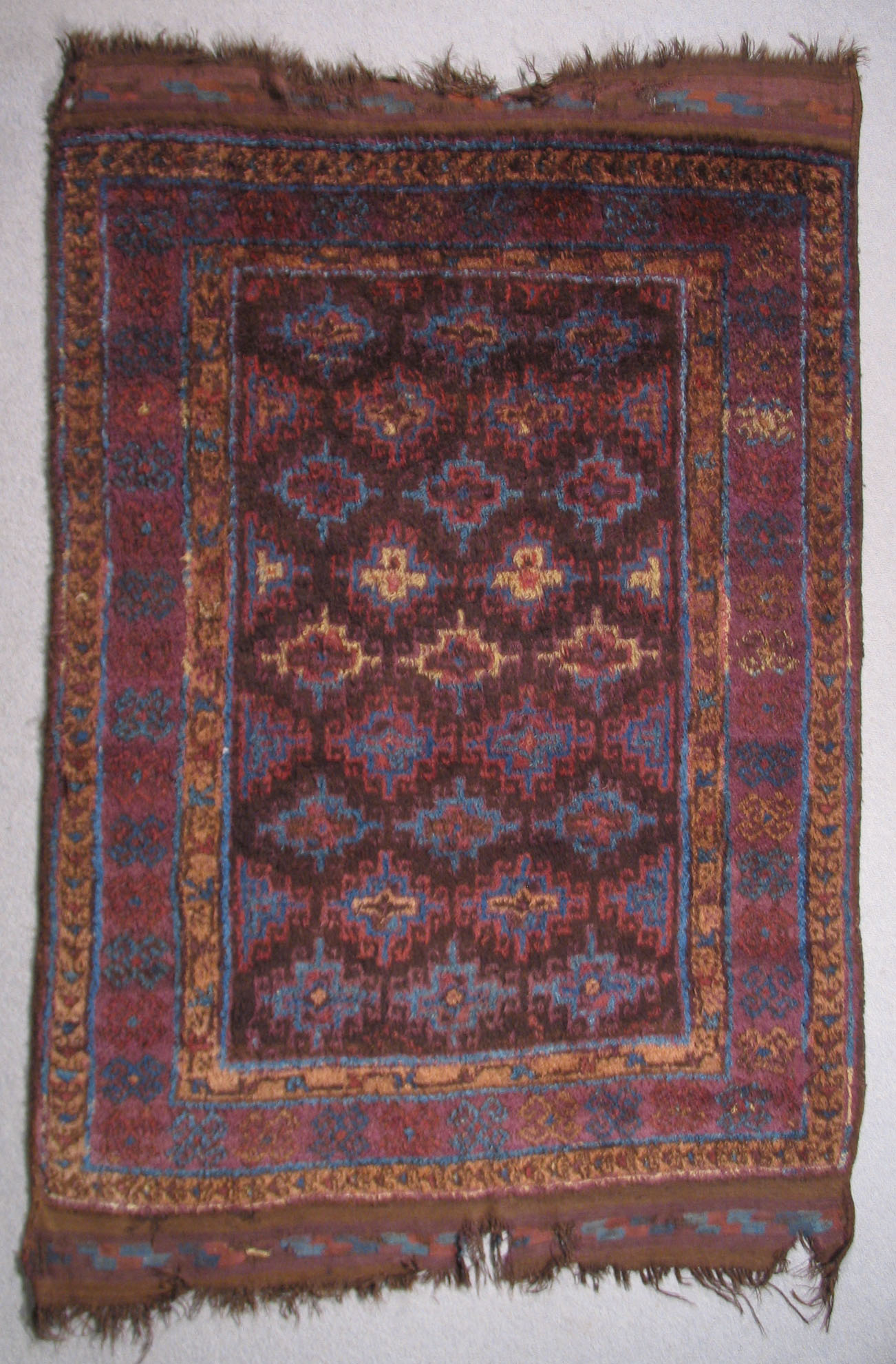 Hazara Long Pile Bedding Rug