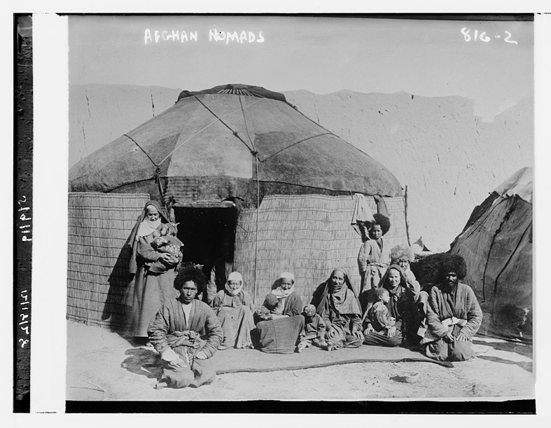 Nomad Yurt AfghanistanLC-DIG-ggbain-03997  Library of Congress Prints and Photographs Division Washington