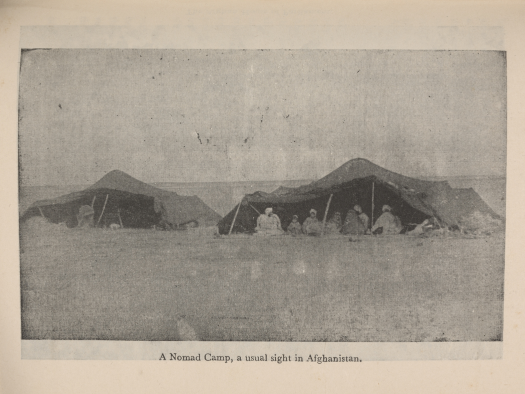 Nomads and tents Afghanistan 1950's
