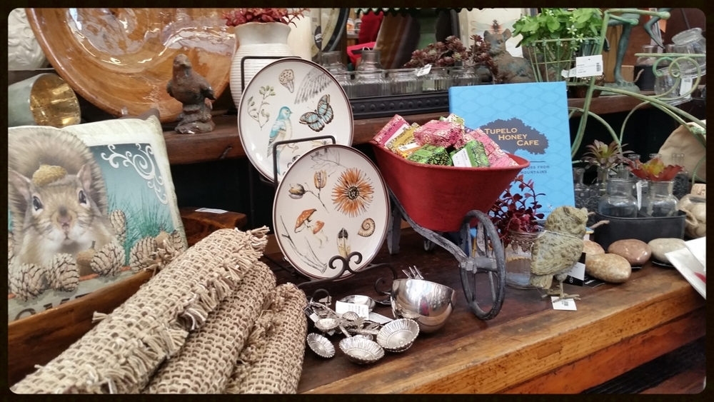 Wide variety of gifts and decorations at our Garden Center