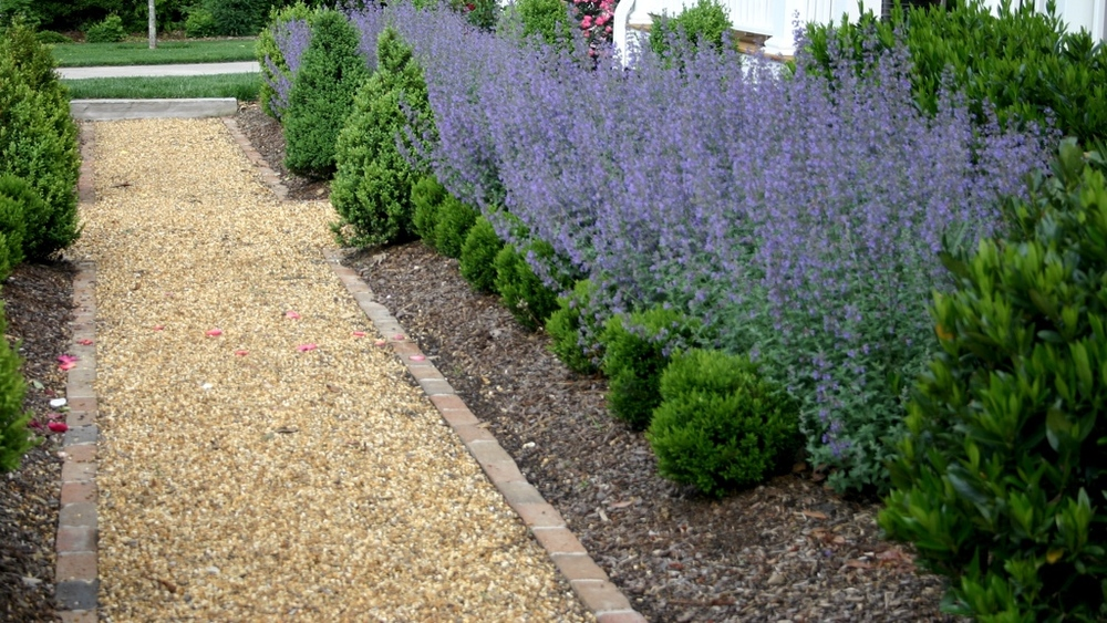 Decorative Gravel Path
