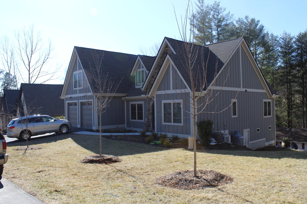 Asheville residence, landscape design