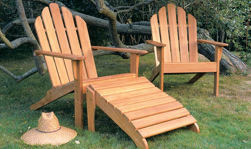 Kingsley Bate Teak Adirondack Chairs