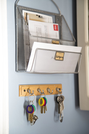 Mail Organization System: Incoming Mail, and Outgoing Mail