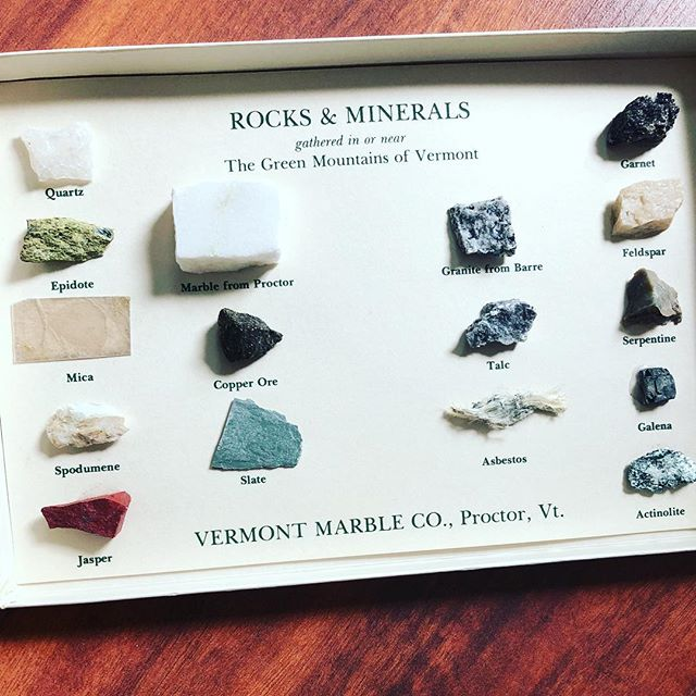 behold this vintage rock collection!! ty so much @_boy_witch  note the asbestos