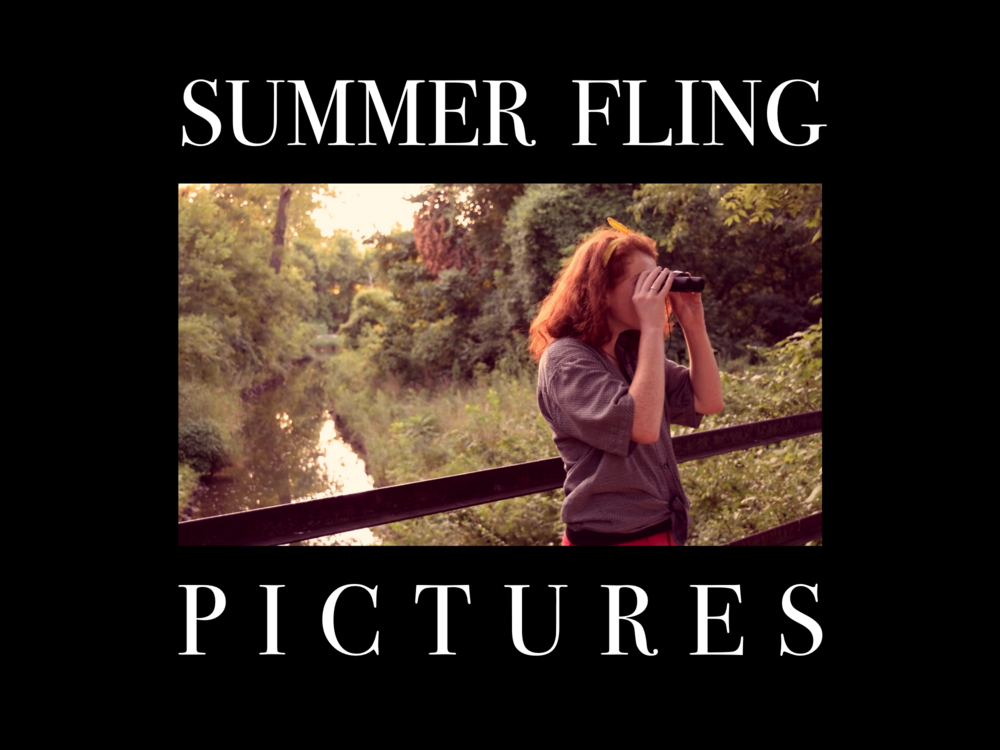 """Summer Fling"" alt. concept 1, featuring Caitlyn Sutherlin in THE FOX'S TEETH."