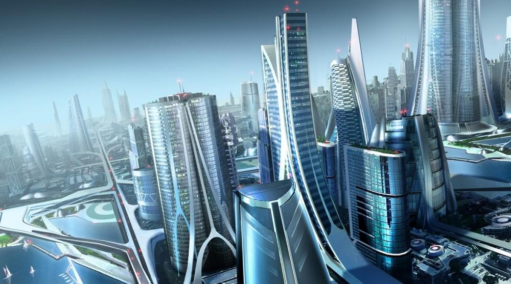 Source httprobertdbrowncomteam concept art podcast2015917 futuristic city and scifi city concept art design Science Fiction A Peak