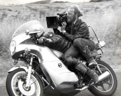 Filming extreme on the original Mad Max movie.