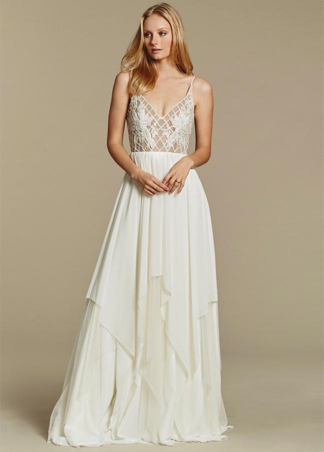 Designed meet white dresses designer blush by hayley for Nashville wedding dress shops