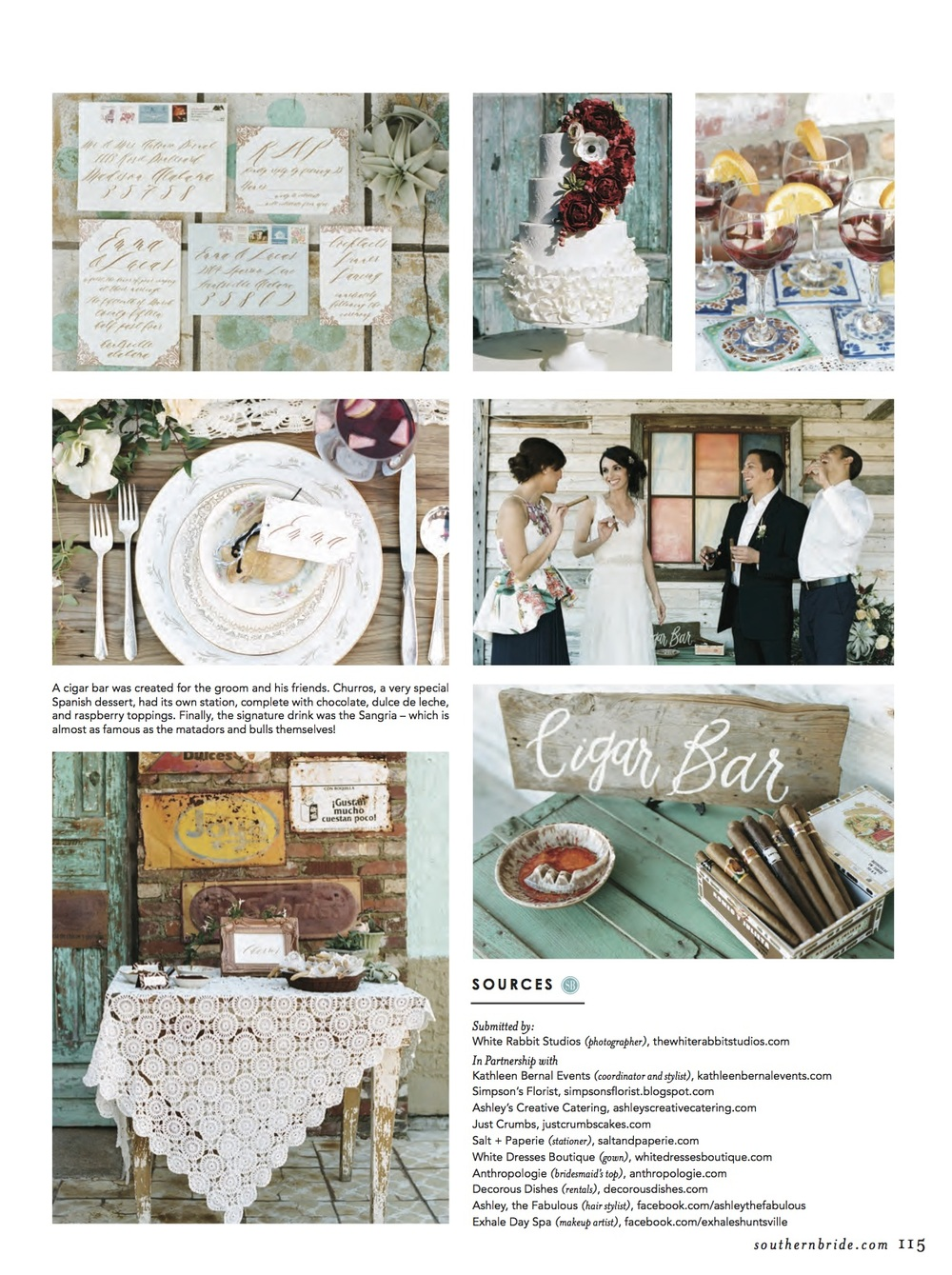 Photo via Southern Bride Magazine.