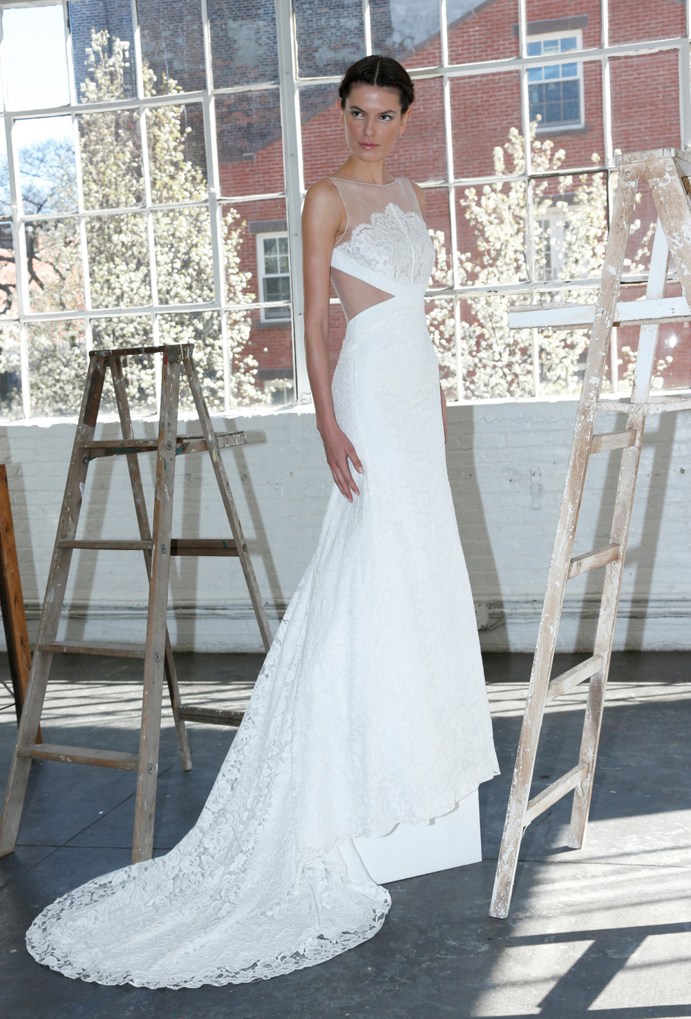Lela Rose Bridal Gown available via our Nashville Bridal Shop. Photo via Thomas Iannaccone.