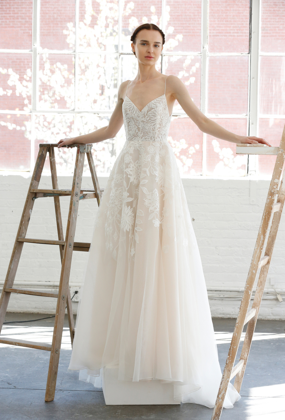 Lela Rose Bridal Gown.