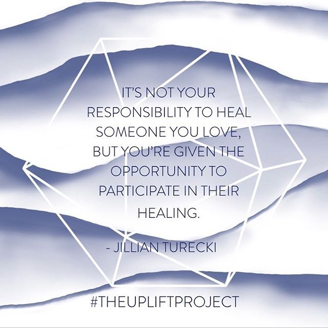 And when we don't know where to start, or how to participate, having compassion is a great place to begin. #jillianturecki #theupliftproject #compassion