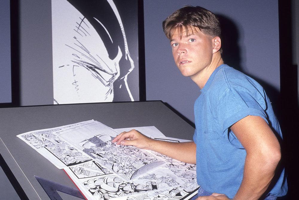 The artist,ca. 1991.