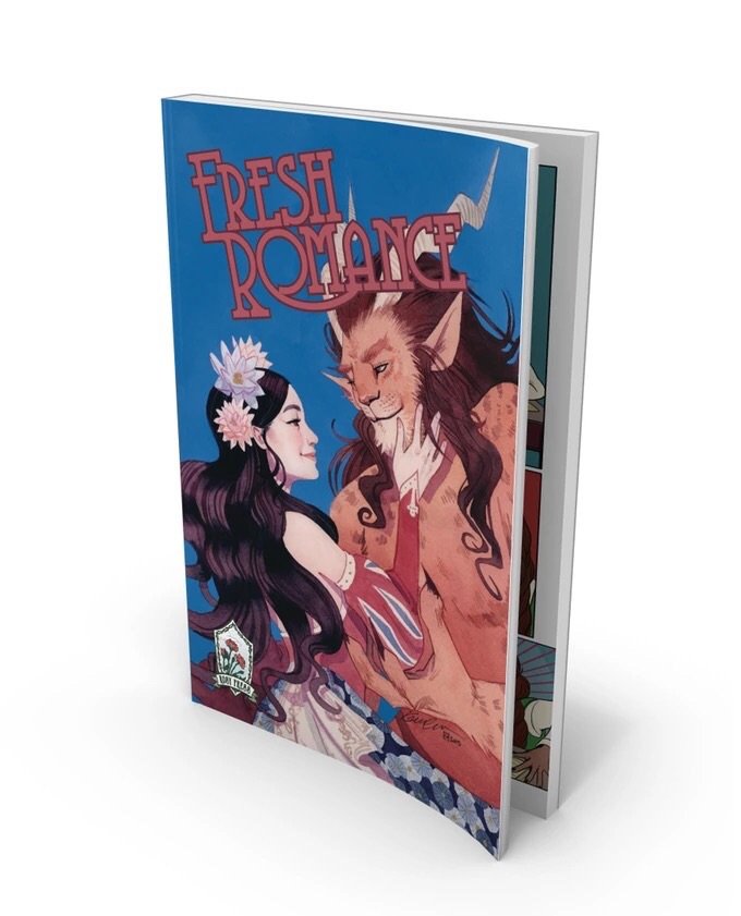 "Fresh Romance from Rosy Press, one of the new generation of ""crowdpresses."" Artwork by Kevin Wada."