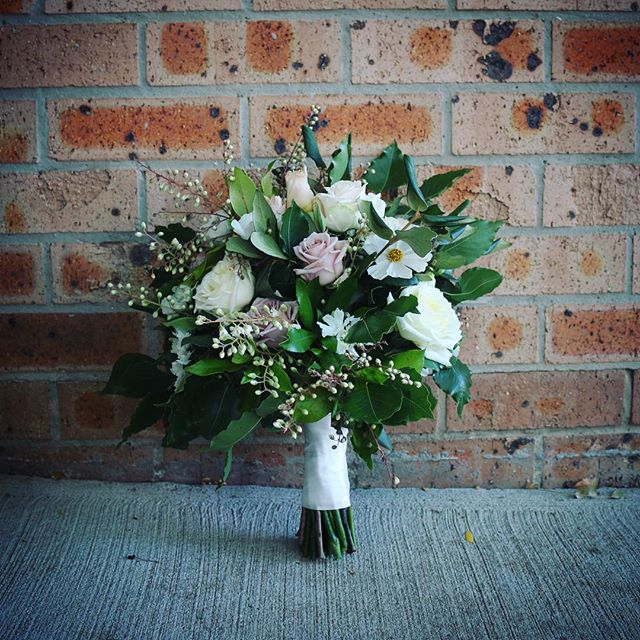 Nicola & Anthony tie the knot #weddingbouquet #weddingflorist #canberrawedding